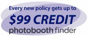 Photobooth Finder Credit Deal